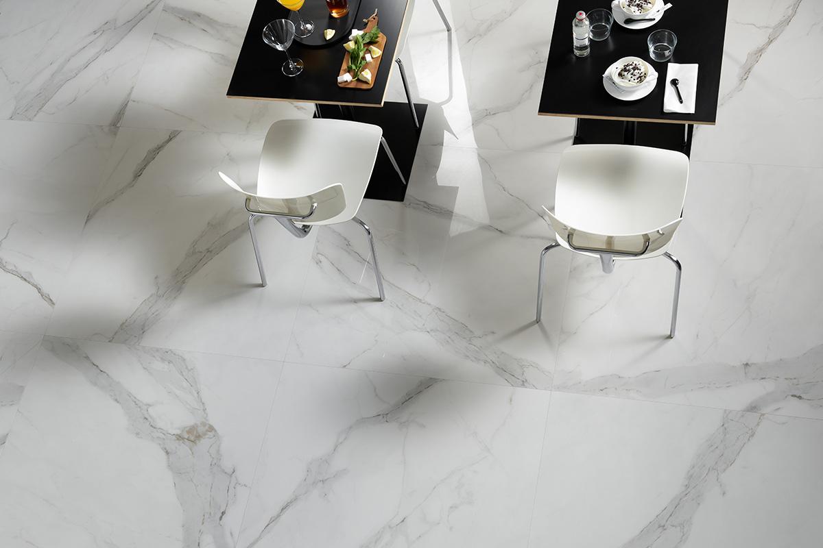 480 Marble Look Porcelain Slab available at Ruben Sorhegui Tile Distributors Southwest Florida's largest tile, stone and mosaics distributor