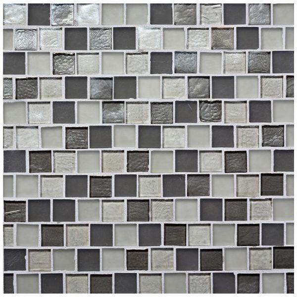 7/8 x 7/8 Offset Pattern of the Muse Collection by Oceanside Glass Tile