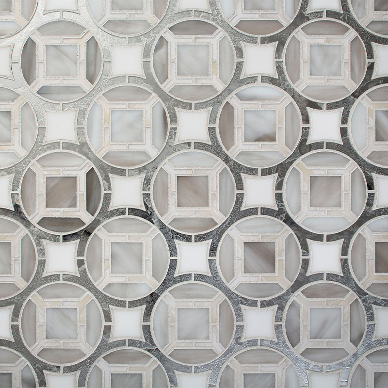 Devotion Cathedral Pattern Glass Tile