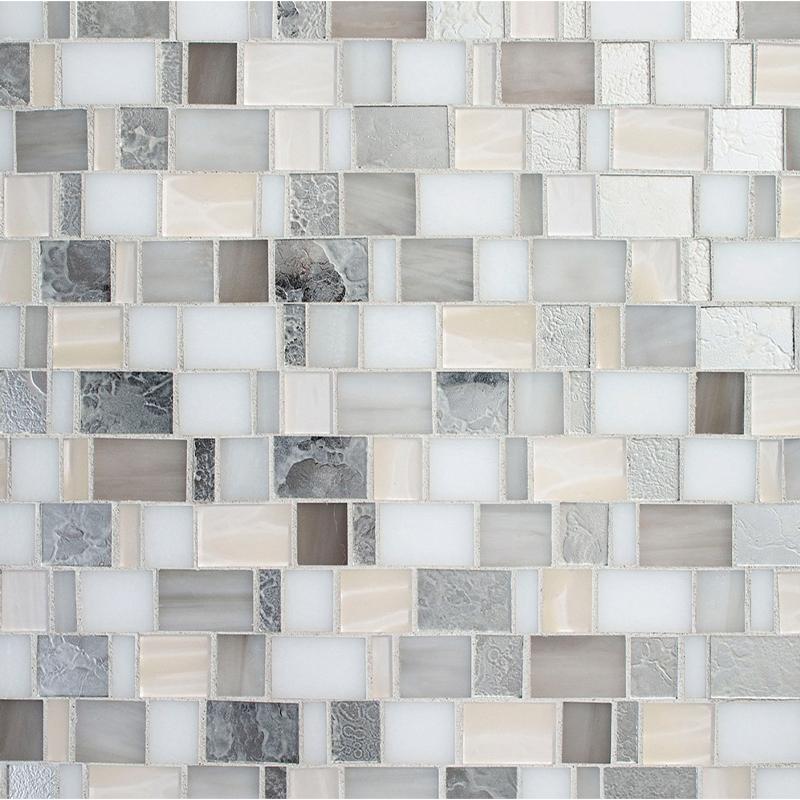 Devotion City Lights Pattern Glass Tile