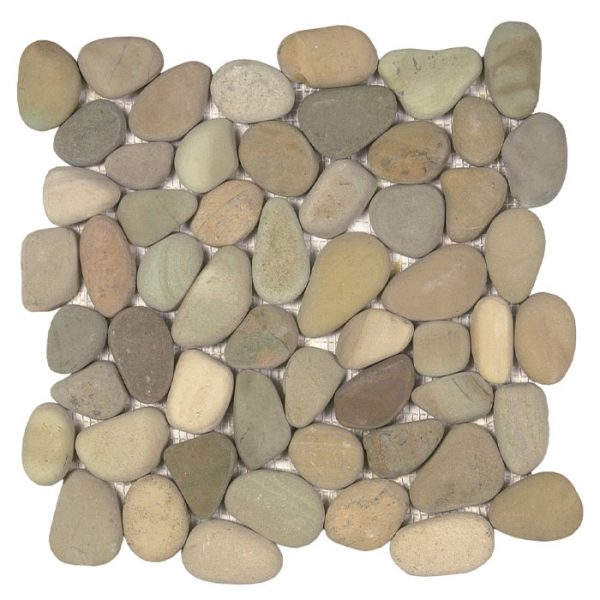 Golden Rectified Pebble Mosaic