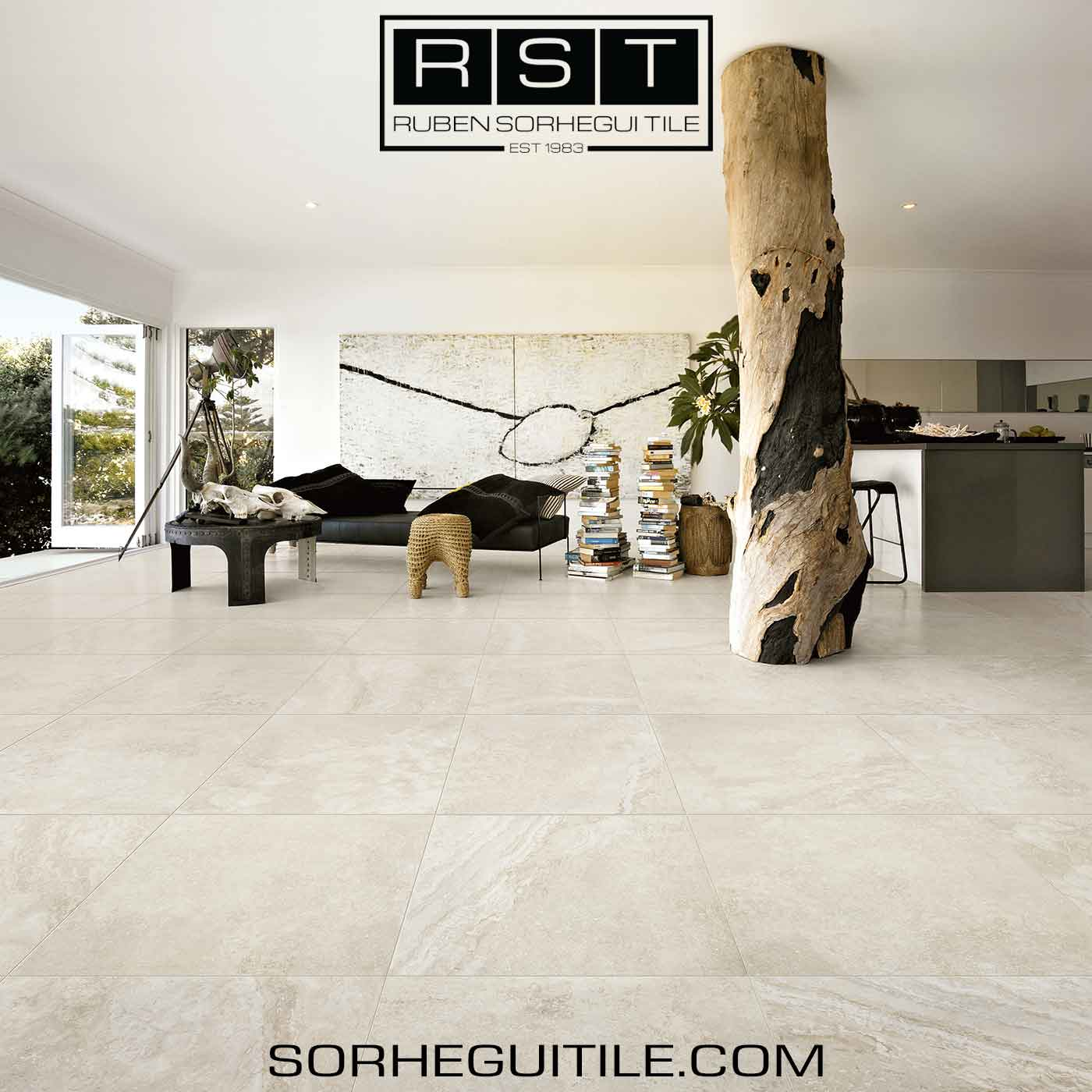 Stone Look Porcelain Flooring: Durable, Versatile, and Reliable Tile for Your Home | Sorhegui Tile