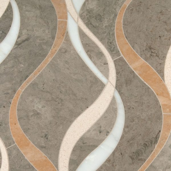Careen Waterjet Mosaic from Ruben Sorhegui Tile Distributors Southwest Florida's largest tile, stone and mosaics distributor