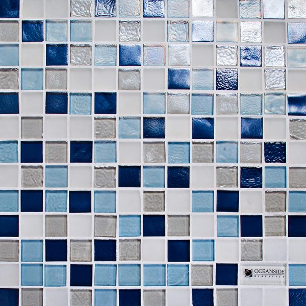 Crystals Blend Glass Mosaic