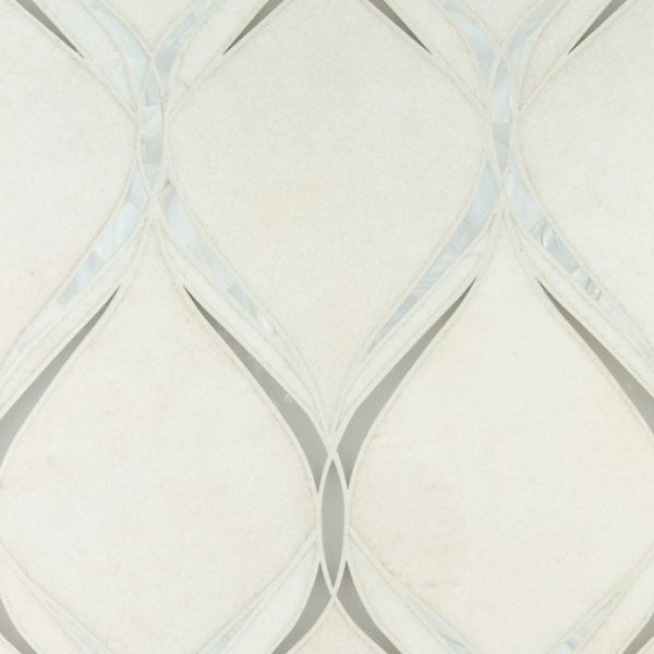 Emma Waterjet Mosaic from Ruben Sorhegui Tile Distributors Southwest Florida's largest tile, stone and mosaics distributor