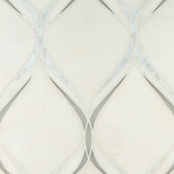Emma Waterjet Mosaic from Ruben Sorhegui Tile Distributors Southwest Florida's largest tile, stone and mosaics distributor