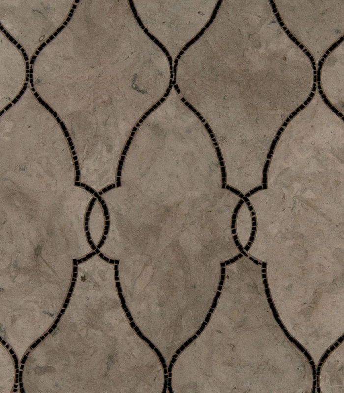 Empress Claudia Waterjet Mosaic from Ruben Sorhegui Tile Distributors Southwest Florida's largest tile, stone and mosaics distributor