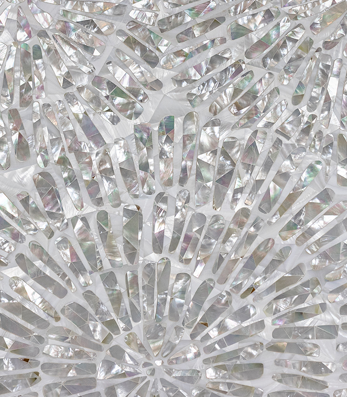 Encircle Mother of Pearl Mosaic