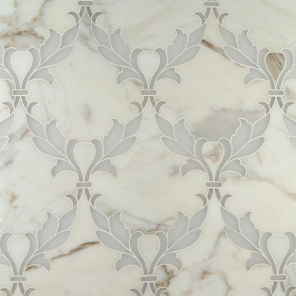 Fleur Waterjet Mosaic from Ruben Sorhegui Tile Distributors Southwest Florida's largest tile, stone and mosaics distributor