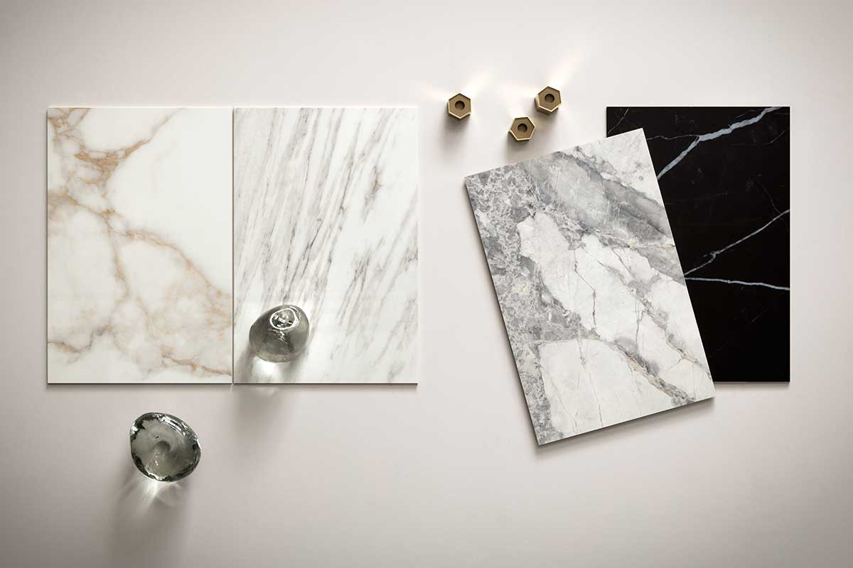 LEA Delight 6mm Mood Board of Timeless Tile, Stone and Porcelain Materials | Ruben Sorhegui Tile Distributors