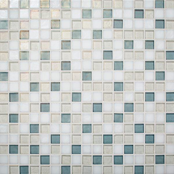 Mountain Air Blend Glass Mosaic