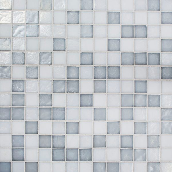 Neblina Blend Glass Mosaic