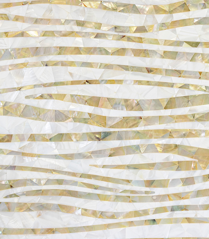 Oceans Edge Mother of Pearl Mosaic
