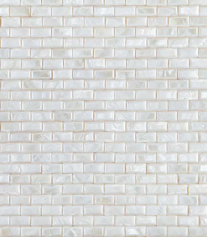 Pavimento Brick Mother of Pearl