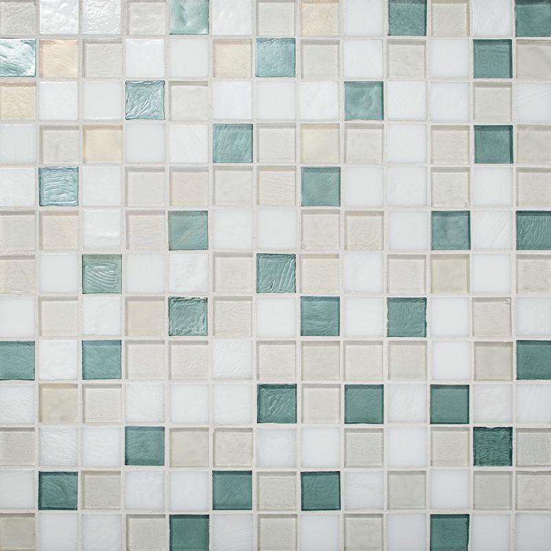 Resort Blend Glass Mosaic