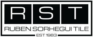 Ruben Sorhegui Tile Distributors Logo | Southwest Florida's premier tile, stone and custom mosaic tile distributor since 1983.