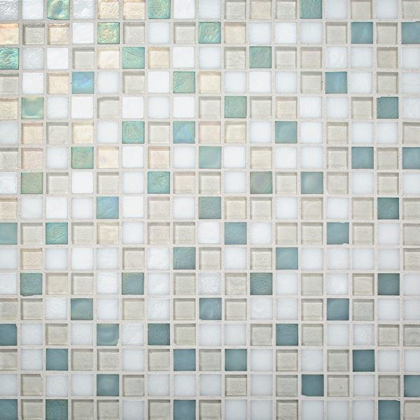 Sailboat Blend Glass Mosaic