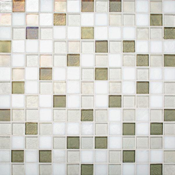 Seedling Blend Glass Mosaic