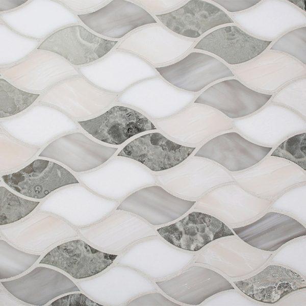 Devotion Sirena Pattern Glass Tile