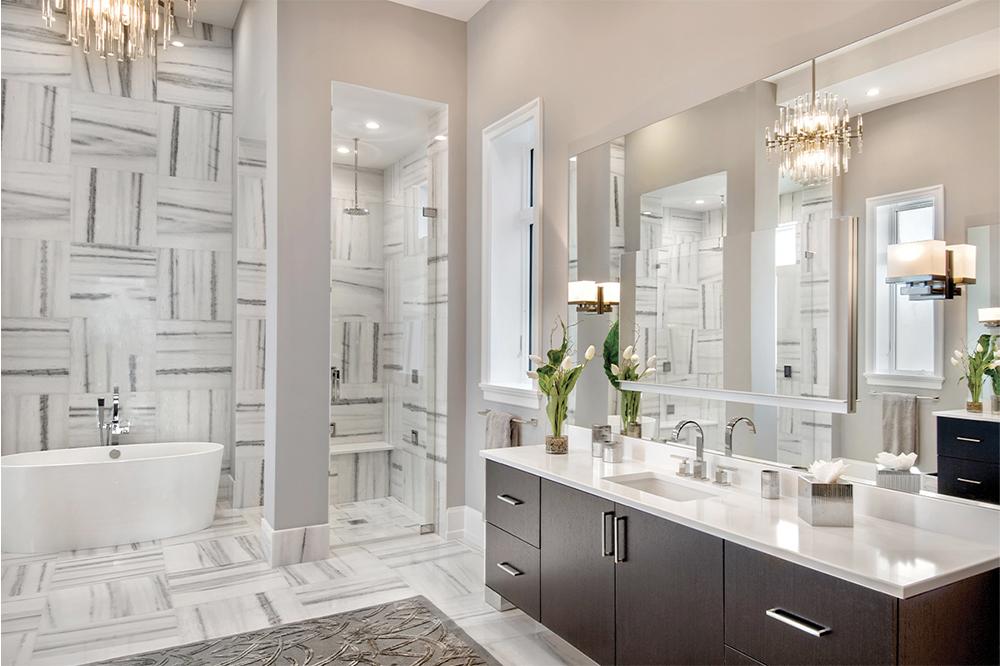 Bathroom Timeless Beauty of Marble Flooring | Sorhegi Tile