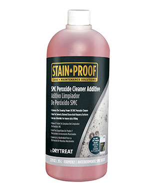 Stain Proof SMC Peroxide Cleaner Additive | Product Maintenance Ruben Sorhegui Tile Distributors