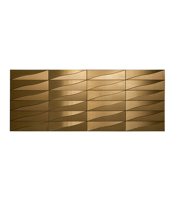 Neelnox Stainless Steel Mosaic available only at Ruben Sorhegui Tile