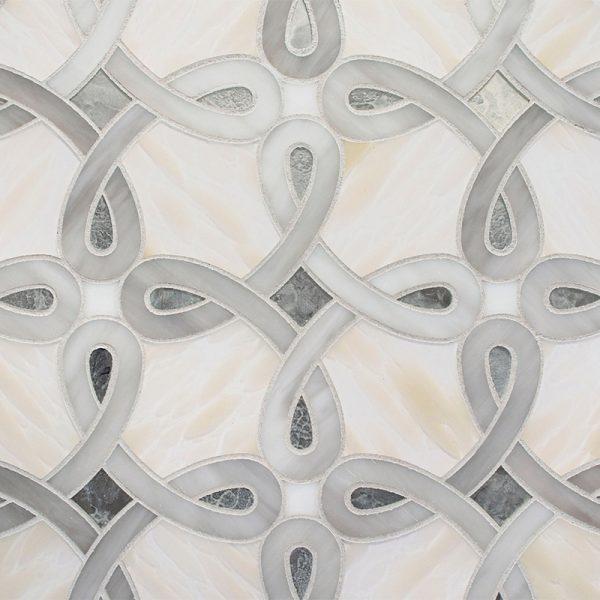 Devotion Vogue Pattern Glass Tile
