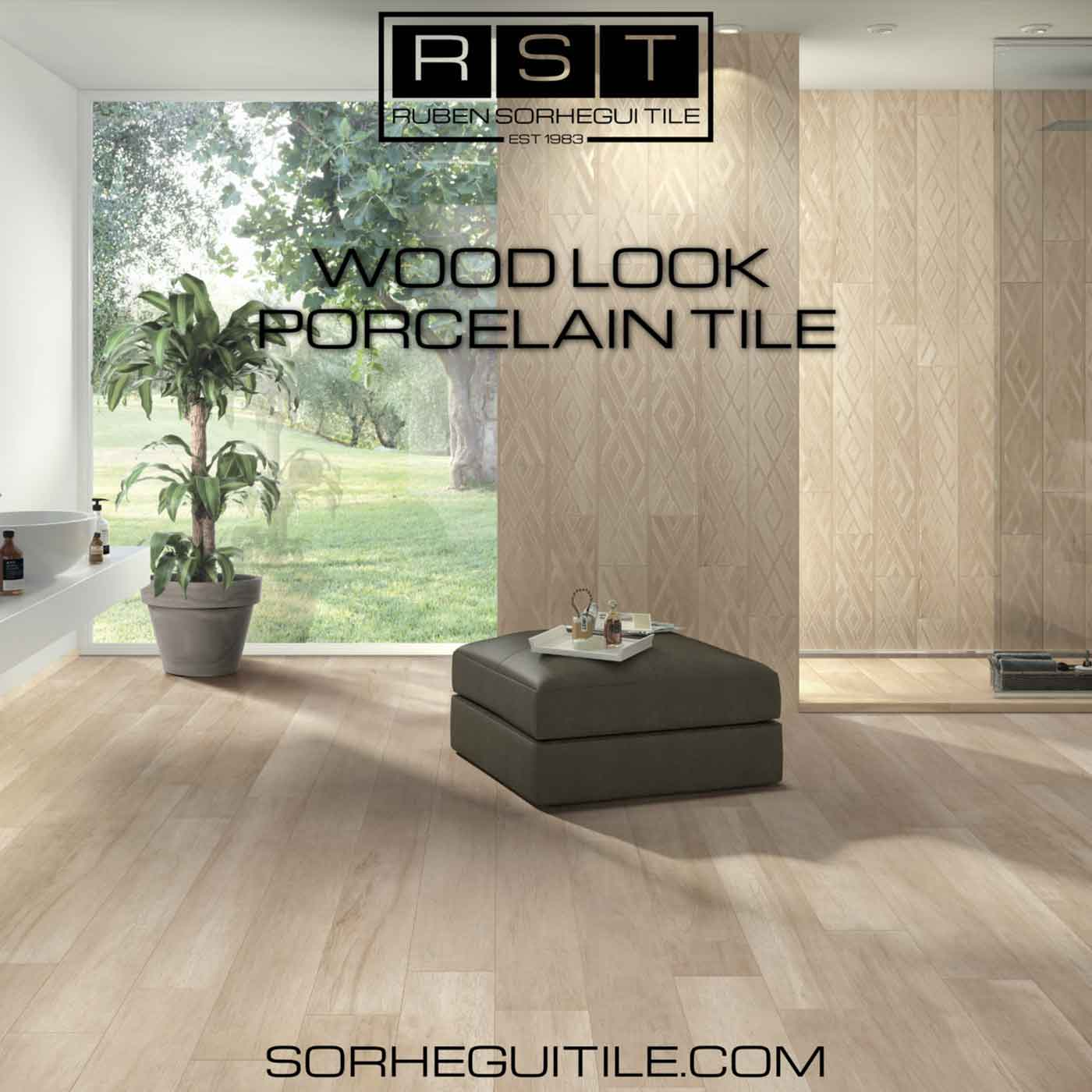 Browse Wood Porcelain Tile slections available at Ruben Sorhegui Tile Distributors Southwest Florida's premier tile, stone and mixed mosaics distributor and tile showroom